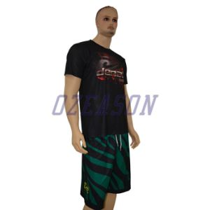 Custom Sportswear Top Quality Sublimation Men T Shirt with Round Neck pictures & photos