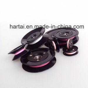Plastic Combined Ceramic Pulley for Wire Guiding Wire Guide Pulley pictures & photos