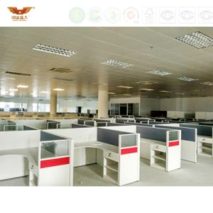 Modern Office Furniture Melamine Board Cubicles Partitions (HY-C1) pictures & photos