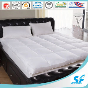 Baffle Box Cheap Feather Mattress Pad with Good Quality pictures & photos