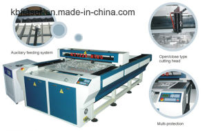1000W Auto Well Rounded Closed Blue Large Scale Fiber Metal Laser Cutting Machine pictures & photos