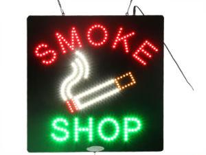 Eye Attracting Smoke Shop Sign