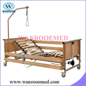 Cheap Homecare Bed with Wooden Batten Surface pictures & photos