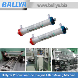 Automatic Solution Production Line Plant for Dialyzers or Artificial Kidneys for Hemodialysis