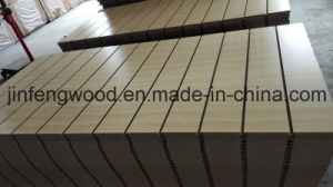 SGS Certificate Full Poplar Core Melamine MDF with Slot pictures & photos
