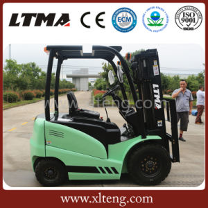 Ltma New Forklift Truck 3t Electric Battery Forklift Truck pictures & photos