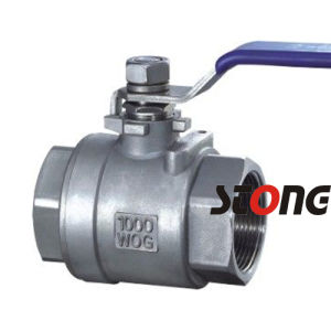 1000wog Heavy Type Stainless Steel 2 Piece Ball Valve pictures & photos
