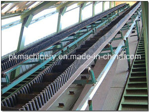 Big Inclined Sidewall Belt Conveyor for Rice pictures & photos