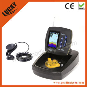 2015 Color Display Wireless and Transducer Boat Fish Finder (FF918-C100W) pictures & photos