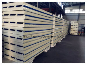 Foam Fireproof Building Material PU Sanwich Panel Price pictures & photos