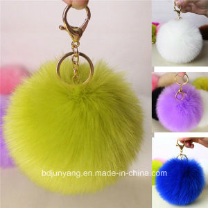 Top Quality Fake Fox Fur Pompoms for Garment Accessories pictures & photos