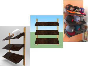 Simple Design Display Stand/Display Rack for Hat pictures & photos