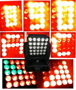 25PCS 12W RGBW 4in1 LED Wash Light Moving Head pictures & photos