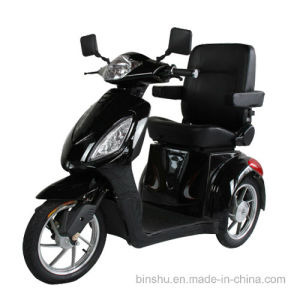 Three Wheel Power Scooter for Elder with Luxury Chair pictures & photos