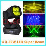 4*25W High Brightness Super Beam LED Moving Head Light