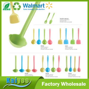 Environmental Protection Anti-Microbial Prevent Hot Bamboo Fiber Spoon pictures & photos