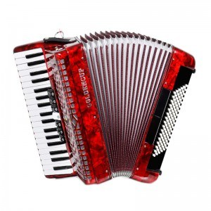 Goldencup Brand Piano Accordion 37keys 96bass pictures & photos