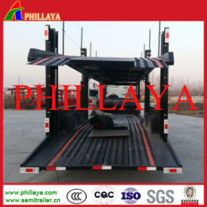 2 Axles Car Carrier Trailer for South Africa pictures & photos