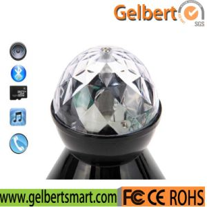 High Quality Crystal Ball LED Light Bluetooth Speaker Used on Party pictures & photos
