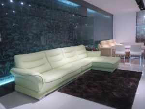 Elegant and Simple Style Living Room Leather Sofa (SBL 9192) pictures & photos