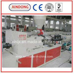 PVC Door & Window Profile Extrusion Plant / Plastic Profile Extrusion Line pictures & photos