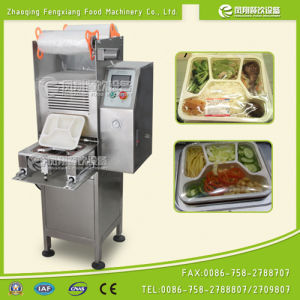 Fs-600 Fast Food Box Sealing Machine, Rice Tray Sealing Machine, Salad Tray Film Sealing Machine pictures & photos