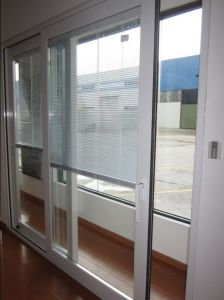 Double Opening Alumunilm Sliding Door