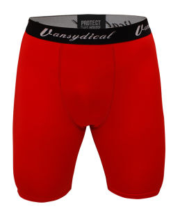 Compression Tights Bodybuilding Shorts Breathable Quick Dry for Men (AKNK-1001) pictures & photos