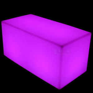 Lighted Cube Furniture Quality Rattan Furniture Stunning Wireless LED Furniture pictures & photos