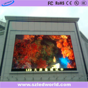 Outdoor/Indoor High Brightness Full Color Fixed Screen LED Display Panel for Video Wall Advertising (P6, P8, P10, P16) pictures & photos