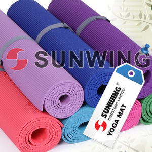 2015 Custom Wholesale Gym Eco Friendly Natural Rubber Yoga Mat pictures & photos