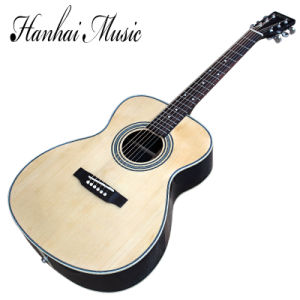 Hanhai Music / 41′′ Acoustic Guitar with Mahogany Neck (00028) pictures & photos
