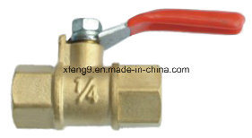 Female Thread Brass Gas Ball Valve with Steel Handle pictures & photos