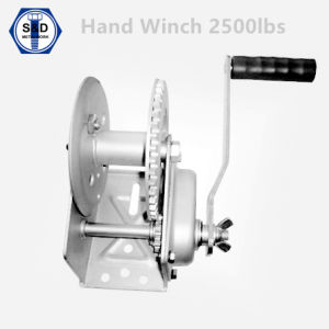 Hand Winch Boat Winch 2500lbs pictures & photos