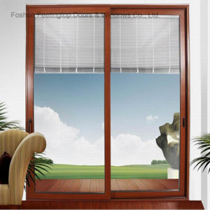European Style Double Glazing Aluminium Sliding Window (FT-W85) pictures & photos
