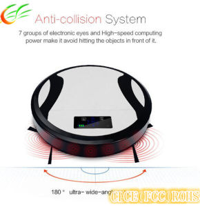 Auto-Mop Sweeper Robot Vacuum Cleaner with Remote Control pictures & photos