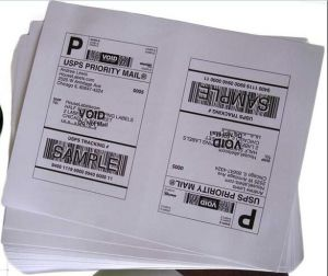 A4 Labels Shipping 8.5X5.5 Half-Sheet Self Adhesive Labels pictures & photos