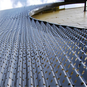 Building Materials Decorative Perforated Metal pictures & photos