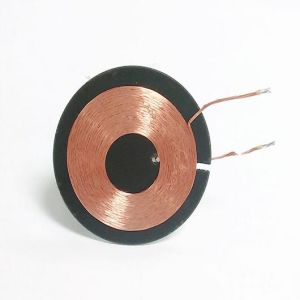 10.5uh Wireless Receiver Coil with Round Ferrite Sheet pictures & photos