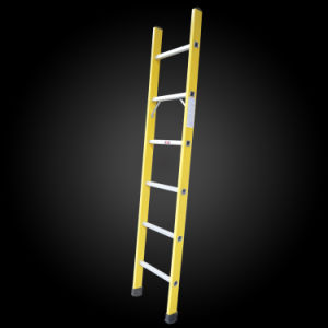 Made in China Super Light Agility Movable Aluminum Step Ladder pictures & photos