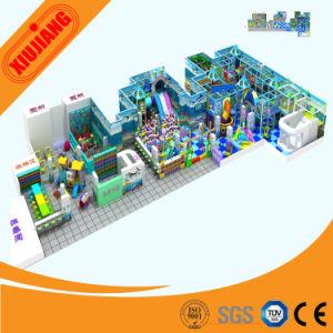 Popular Theme Kids Plastic Commercial Indoor Playground (XJ5046) pictures & photos