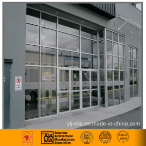Exposed Aluminum Framed Glass Curtain Wall (commercial use) pictures & photos