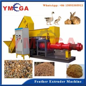 Fully Automatic Poultry Feed Complete Feather Extruding Equipment for Sale pictures & photos