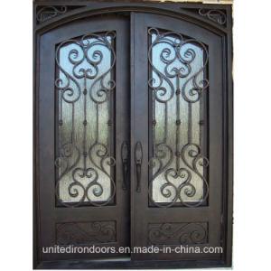 Square Top Front Iron Door (UID-D072) pictures & photos