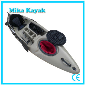 Ocean Motor Kayak with Pedals Fishing Boats Plastic Canoe pictures & photos