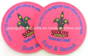 High Quality Wholesale Custom Patches Embroidered Patches pictures & photos