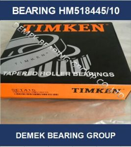 Hot Sell Timken Inch Taper Roller Bearing Hm518445/10 Set415 pictures & photos