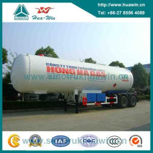 Sinotruk 3 Axle 25-38cbm LPG Tanker Semi Trailer pictures & photos
