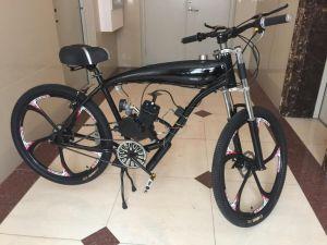 80cc Motorized Gas Tank Built Bicycle Frame/Petrol Bicycle Engine Kit/Motorcycle Kit pictures & photos