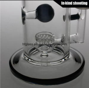 Toro Glass Smoking Pipe Jet Perc Heavy Blue Honeycomb Bubbler Oil Rig Tobacco Water Glass Pipes Glass Bongs pictures & photos